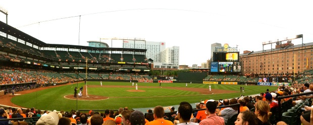 Game 20: Oriole Park at Camden Yards
