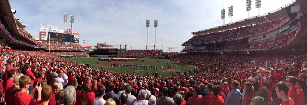 Game 1: Great American Ballpark, Cincinnati