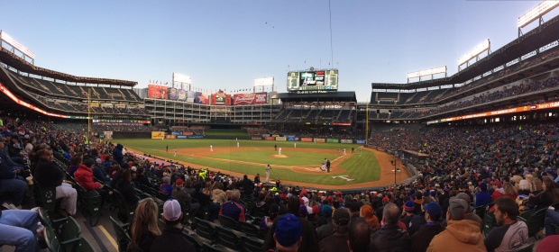 Game 5: Globe Life Park in Arlington