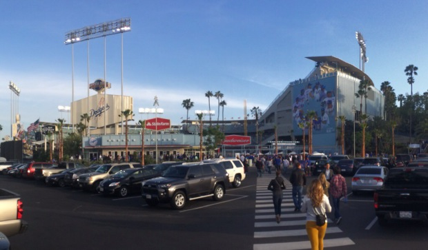 Game 9: Dodger Stadium, Los Angeles