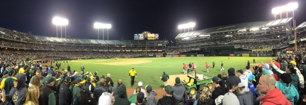 Game 11: O.Co Coliseum, Oakland