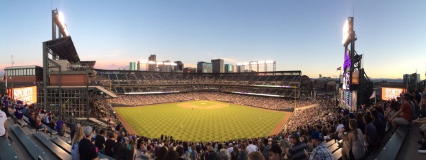 Game 13: Coors Field, Colorado