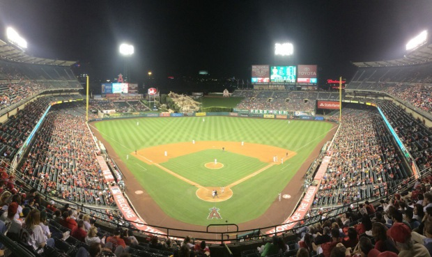 Game 14: Angel Stadium, Anaheim
