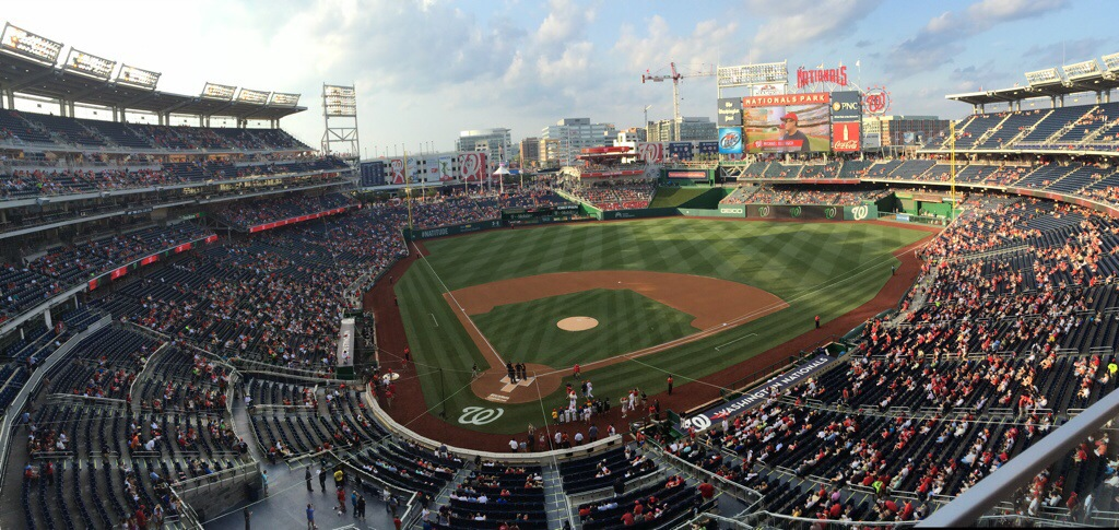 Game 19: Nationals Park, Washington, D.C.
