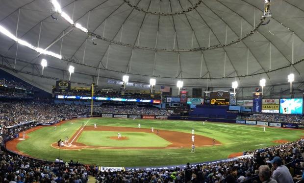 Game 25: Tropicana Field, St. Petersburg,FL
