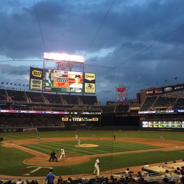 Game 24: Target Field,Minnesota