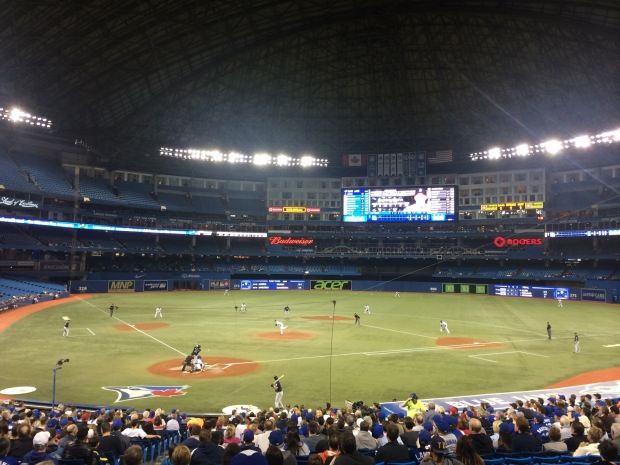 Game 28: Rogers Centre,Toronto