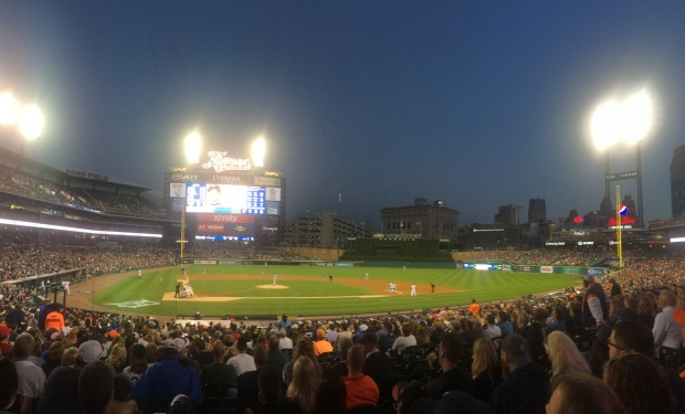 Game 29: Comerica Park, Detroit
