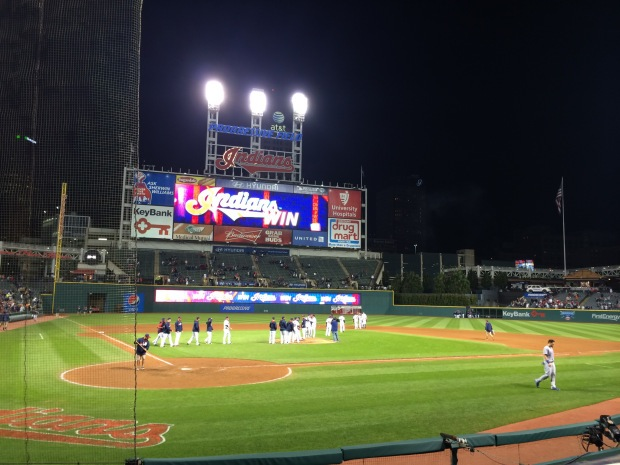 Game 30: Progressive Field, Cleveland