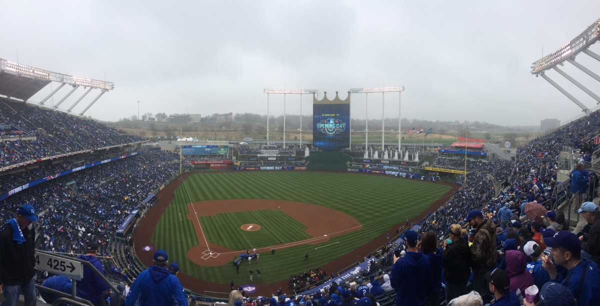 The Royals are 1-0: lots to get excited about from Opening Day.