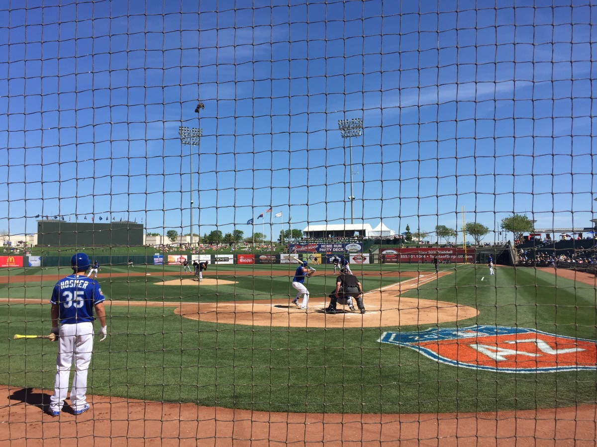 Cactus League: Gordon and Hosmer murder baseballs, KC wins 7-5.