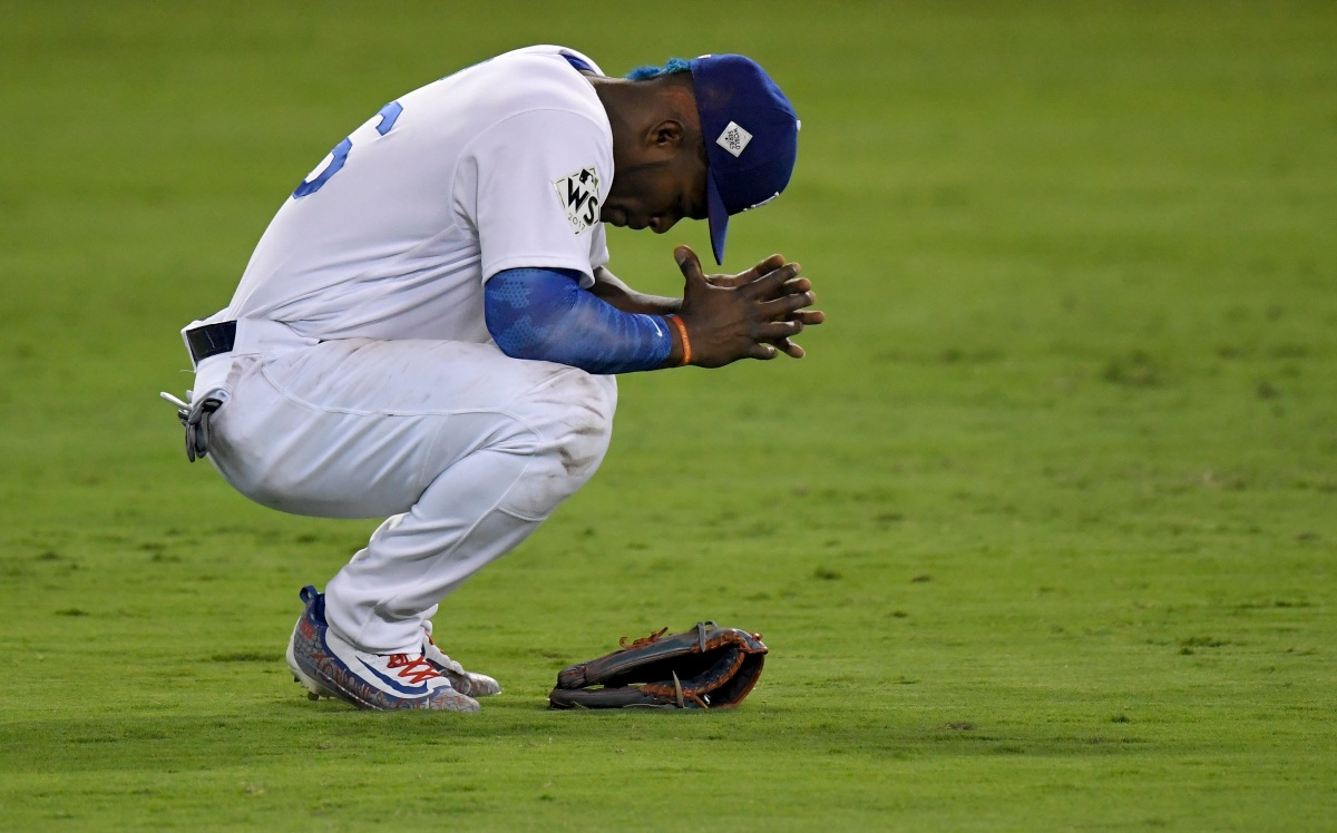 World Series Game 2: An incredible game of inches (feat. Puig's glove & bat).